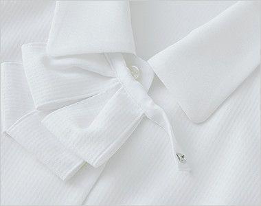 SELERY(セロリー) S-36692 36693 36696 36698 [通年]敏感肌の方も安心!清潔加工の半袖ブラウス(リボン付)