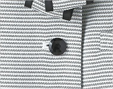 S-50340 50341 SELERY(セロリー) [春夏用]セロリーNo.1売上!清涼感あるボーダーのオーバーブラウス キラキラと輝く黒ボタン