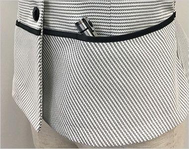 S-50340 50341 SELERY(セロリー) [春夏用]セロリーNo.1売上!清涼感あるボーダーのオーバーブラウス ボールペンなどが入る深めの両脇ポケット