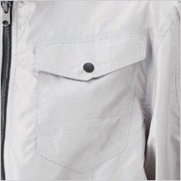 05810SET シンメン S-AIR フードインジャケット(男性用) ポケット付き