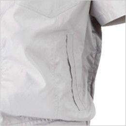 05811 シンメン S-AIR フードインハーフジャケット(男性用) ポケット付き