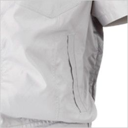 05811SET シンメン S-AIR フードインハーフジャケット(男性用) ポケット付き
