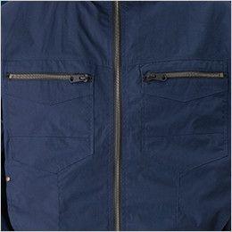 05830 シンメン S-AIR コットンワークジャケット(男性用) 大型ポケット付き