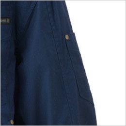 05830 シンメン S-AIR コットンワークジャケット(男性用) ペンポケット付き