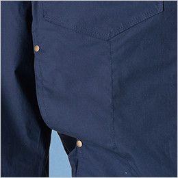 05830 シンメン S-AIR コットンワークジャケット(男性用) ポケット