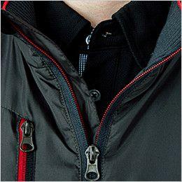 43800 桑和 かっこいい防寒ジャケット 配色ファスナー(ムシ部分のみ)