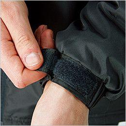 43800 桑和 かっこいい防寒ジャケット 袖口マジックテープ