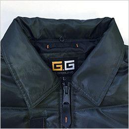 44503 桑和 G・GROUND かっこいいドカジャン 防寒ブルゾン 取り外しボア