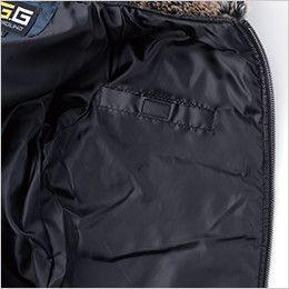 44503 桑和 G・GROUND かっこいいドカジャン 防寒ブルゾン 左胸 内ポケット