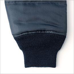 44503 桑和 G・GROUND かっこいいドカジャン 防寒ブルゾン 袖2段リブ