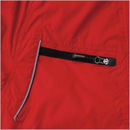 44903 桑和 防寒ブルゾン ファスナーポケット