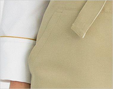 EA-1874 1875 1876 Servo(サーヴォ) 胸当てエプロン(アンクル加工) 大容量のポケット