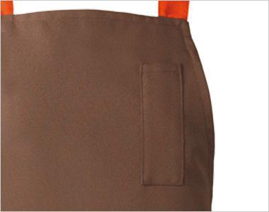 EA-6732 6733 Servo(サーヴォ) 胸当てエプロン(男女兼用) ペン差しポケット