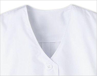 FA-332 Servo(サーヴォ) 調理白衣/半袖(女性用) 襟なし