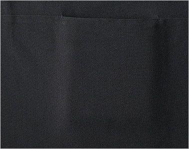 GA-6149 Servo(サーヴォ) カマーエプロン(ノッチカラー) ポケット付き