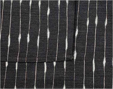 JA-1223 Servo(サーヴォ) でんでん縞前掛 エプロン ポケット底二重縫い
