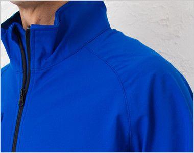 [在庫限り/返品交換不可]00037-SFJ ソフトシェルジャケット(男女兼用) 腕が動かしやすいラグラン仕様