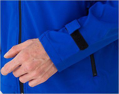 [在庫限り/返品交換不可]00037-SFJ ソフトシェルジャケット(男女兼用) 簡単にサイズ調節ができるマジックテープ仕様