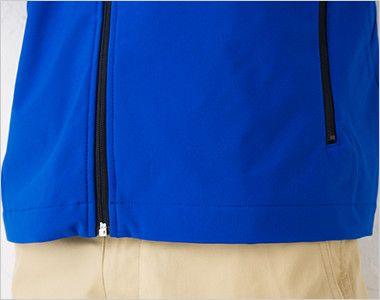 [在庫限り/返品交換不可]00037-SFJ ソフトシェルジャケット(男女兼用) 裾部分