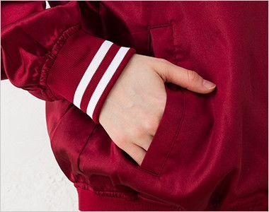 スタジアムジャンパー(男女兼用) ポケット付き