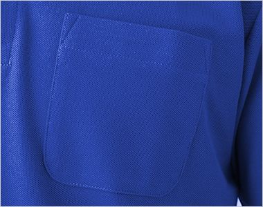 T/Cポロシャツ(ポケ付)(5.8オンス)(男女兼用) ポケット付き