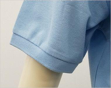 00141-NVP T/Cポロシャツ(ポケ無し)(5.8オンス)(男女兼用) 袖口部分