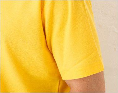カジュアルポロシャツ(ポケ無し)(4.9オンス)(男女兼用) 袖部分