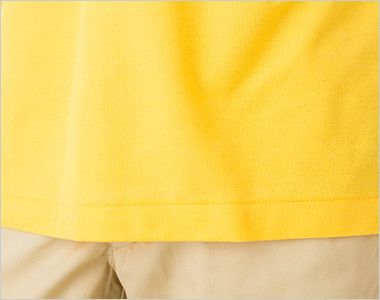 00193-CP カジュアルポロシャツ(ポケ無し)(4.9オンス)(男女兼用) 裾部分