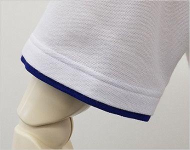 00195-BYP ベーシックレイヤードポロシャツ(5.8オンス)(男女兼用) アクセントのレイヤード仕様