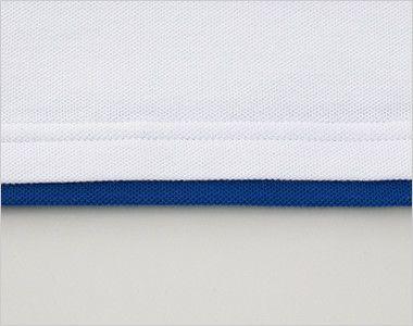 ベーシックレイヤードポロシャツ(5.8オンス)(男女兼用) アクセントのレイヤード仕様