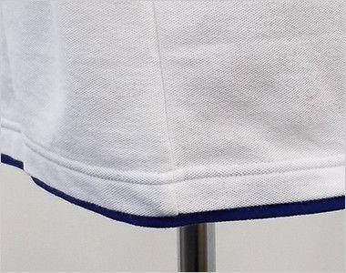 00195-BYP ベーシックレイヤードポロシャツ(5.8オンス)(男女兼用) スリット無し