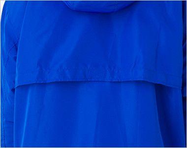 00230-ABC アクティブベンチコート(男女兼用) ワンタッチ留めの背フラシ