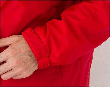 軽防寒 リフレクベーシックコート 中綿(男女兼用) 袖口リブ仕様