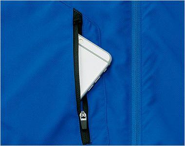 00235-LSC ライトストレッチジャケット(男女兼用) ポケット付き