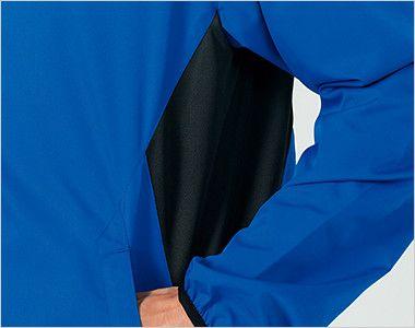 00235-LSC ライトストレッチジャケット(男女兼用) 通気性がよく蒸れにくい