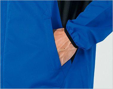 00235-LSC ライトストレッチジャケット(男女兼用) 両脇ポケット付き