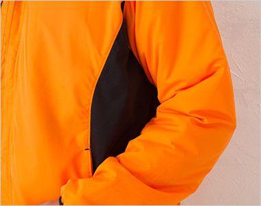 00236-FSC 裏フリース ストレッチジャケット(男女兼用) メッシュ仕様