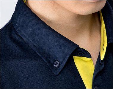 00315-AYB 4.4オンス ドライレイヤードボタンダウンポロシャツ(男女兼用) 爽やかな印象のボタンダウン