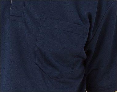 00315-AYB 4.4オンス ドライレイヤードボタンダウンポロシャツ(男女兼用) ポケット付き
