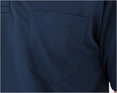 00331-ABP ドライ・ボタンダウンポロシャツ(4.4オンス)(ポケット有り)(男女兼用) ポケット付き