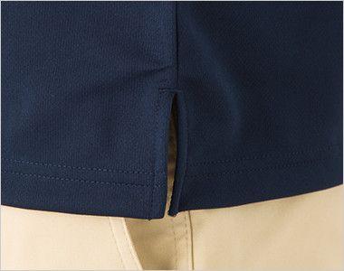 ドライ・ボタンダウンポロシャツ(4.4オンス)(ポケット有り)(男女兼用) スリット入り