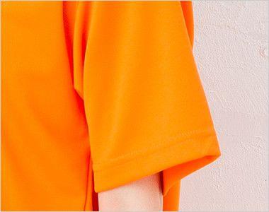 ドライVネックTシャツ(4.4オンス)(男女兼用) 袖口部分