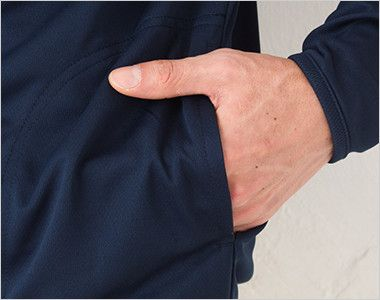 ドライジップパーカー(4.4オンス)(男女兼用) ポケット付き