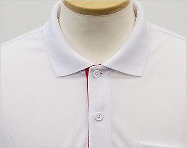 ドライ レイヤードポロシャツ(4.4オンス)(男女兼用) ボタンを留めてきちんとした印象