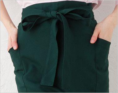 ポリソムリエエプロン(男女兼用) ポケット付き