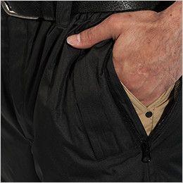 TS DESIGN 18222 メガヒート 防水防寒パンツ(男女兼用) スルーポケット