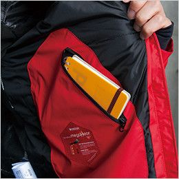 18226 TS DESIGN メガヒート 防水防寒ジャケット(男女兼用)  内ポケット