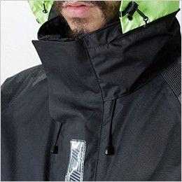 TS DESIGN 18236 メガヒートフラッシュ防水防寒ジャケット(男女兼用) フード調節付