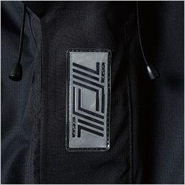 TS DESIGN 18236 メガヒートフラッシュ防水防寒ジャケット(男女兼用) 反射ワッペン