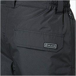 18242 TS DESIGN メガヒートES防水防寒パンツ(男女兼用) ESワッペン(独自に開発した制電素材を使用し、JIS T8118に基づく試験をクリアーした商品です)